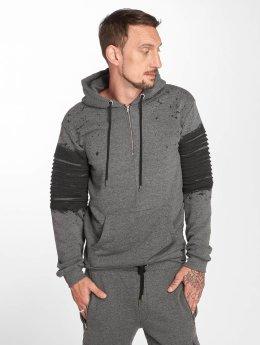 VSCT Clubwear Zip Hoodie Oiled серый
