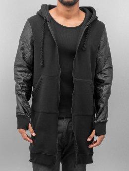 VSCT Clubwear Zip Hoodie Xtended czarny