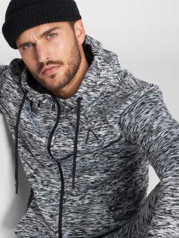 VSCT Clubwear Zip Hoodie Melange Techfleece grå