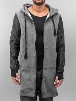 VSCT Clubwear Zip Hoodie Xtended szary