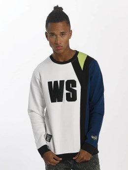 Who Shot Ya? Пуловер Whoshot Y белый