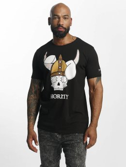 Who Shot Ya? Camiseta Viking negro