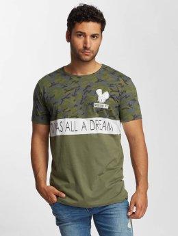 Who Shot Ya? Camiseta Wonderful oliva