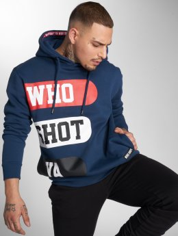 Who Shot Ya? Hoodies Boss Choonz modrý