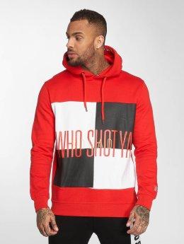 Who Shot Ya? Hoodies WS Style rød