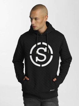 Who Shot Ya? Hoody Quilted schwarz