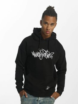 Who Shot Ya? Hoody Capital W zwart