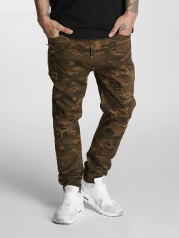 Who Shot Ya? Jean carotte antifit Genius camouflage