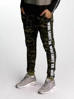 Who Shot Ya? joggingbroek BigWho groen
