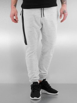 Who Shot Ya? joggingbroek Melange wit