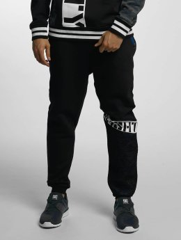 Who Shot Ya? joggingbroek Bluecamou zwart