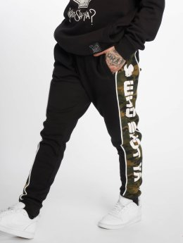 Who Shot Ya? joggingbroek Fat Sniper zwart