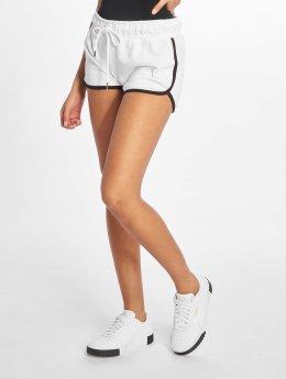 Who Shot Ya? Pantalón cortos Khia blanco