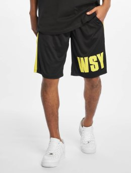 Who Shot Ya? Pantalón cortos Whoshot Y negro