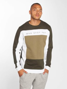 Who Shot Ya? Männer Pullover Notorious Choppa in olive
