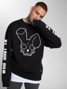 Who Shot Ya? Pullover Fat Sniper schwarz
