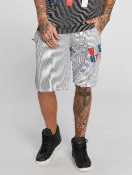 Who Shot Ya? WHSHTY Shorts White