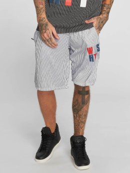 Who Shot Ya? WHSHTY Shorts White