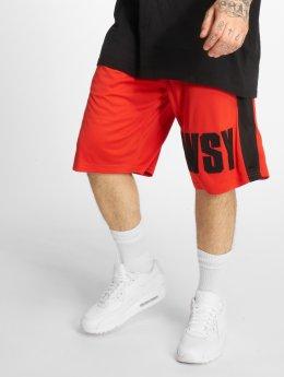 Who Shot Ya? Shorts Whoshot Y röd