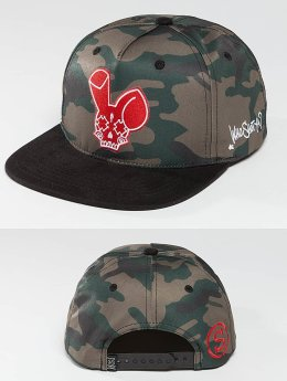 Who Shot Ya? Snapback Caps Camo Fist musta