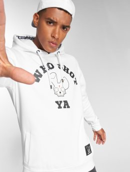 Who Shot Ya? Sudadera Golden W Clan blanco