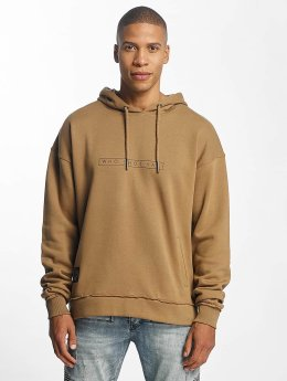 Who Shot Ya? Sweat capuche Vintage Seam beige