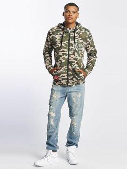 Who Shot Ya? Sweat capuche zippé Camo camouflage
