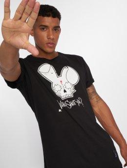 Who Shot Ya? T-Shirt Grunge black