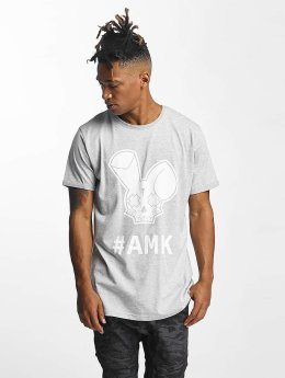 Who Shot Ya? T-Shirt Logo grau