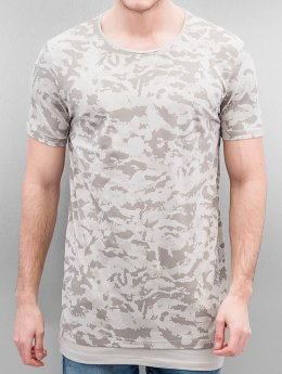 Who Shot Ya? T-shirt long oversize Armee beige
