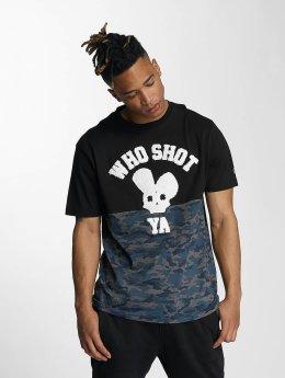 Who Shot Ya? T-shirt Darkcamou nero