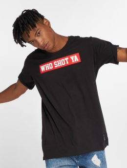 Who Shot Ya? T-Shirt Fresh W noir