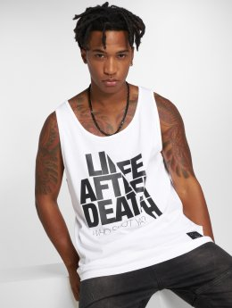 Who Shot Ya? Tank Tops Life after death bílý