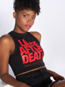 Who Shot Ya? Tank Tops Life after death black