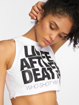 Who Shot Ya? Tank Tops Life after death valkoinen