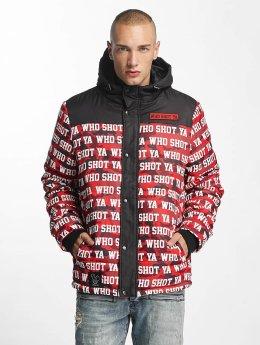 Who Shot Ya? Winter Jacket Uniondale red