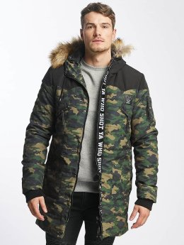 Who Shot Ya? Winterjacke BigWho grün