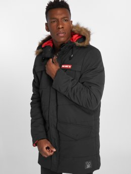 Who Shot Ya? Winterjacke Battle Bass schwarz