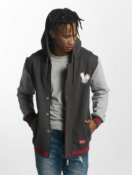 Who Shot Ya? Zip Hoodie Dreams grau