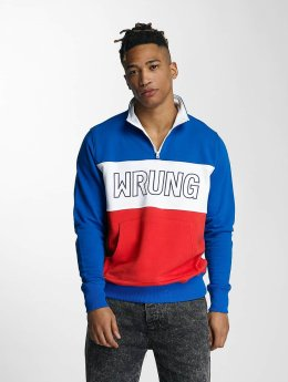 Wrung Division Пуловер Rushmore синий