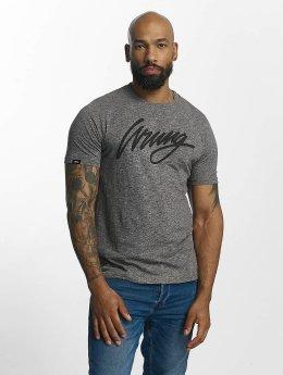 Wrung Division Camiseta Signature gris