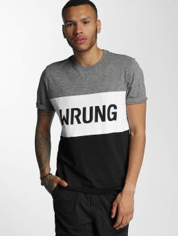 Wrung Division Camiseta Russell negro