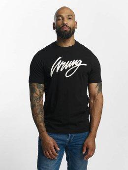 Wrung Division Camiseta Signature negro