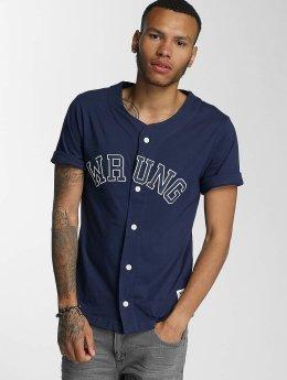 Wrung Division Chemise Hitman Baseball bleu
