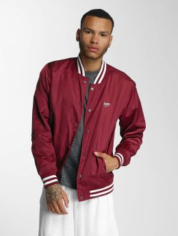 Wrung Division Männer College Jacke Touchdown in rot