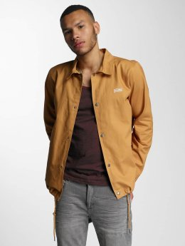 Wrung Division Giacca Mezza Stagione Coach Snap beige