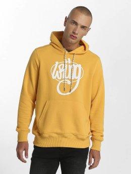 Wrung Division Hoodies Vintage žlutý