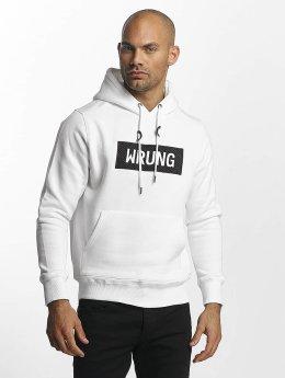 Wrung Division Hoodies Boxter hvid