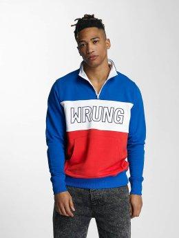 Wrung Division Jumper Rushmore blue