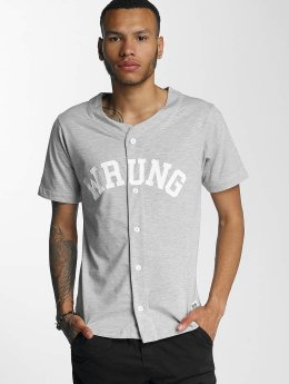 Wrung Division Koszule Hitman Baseball szary